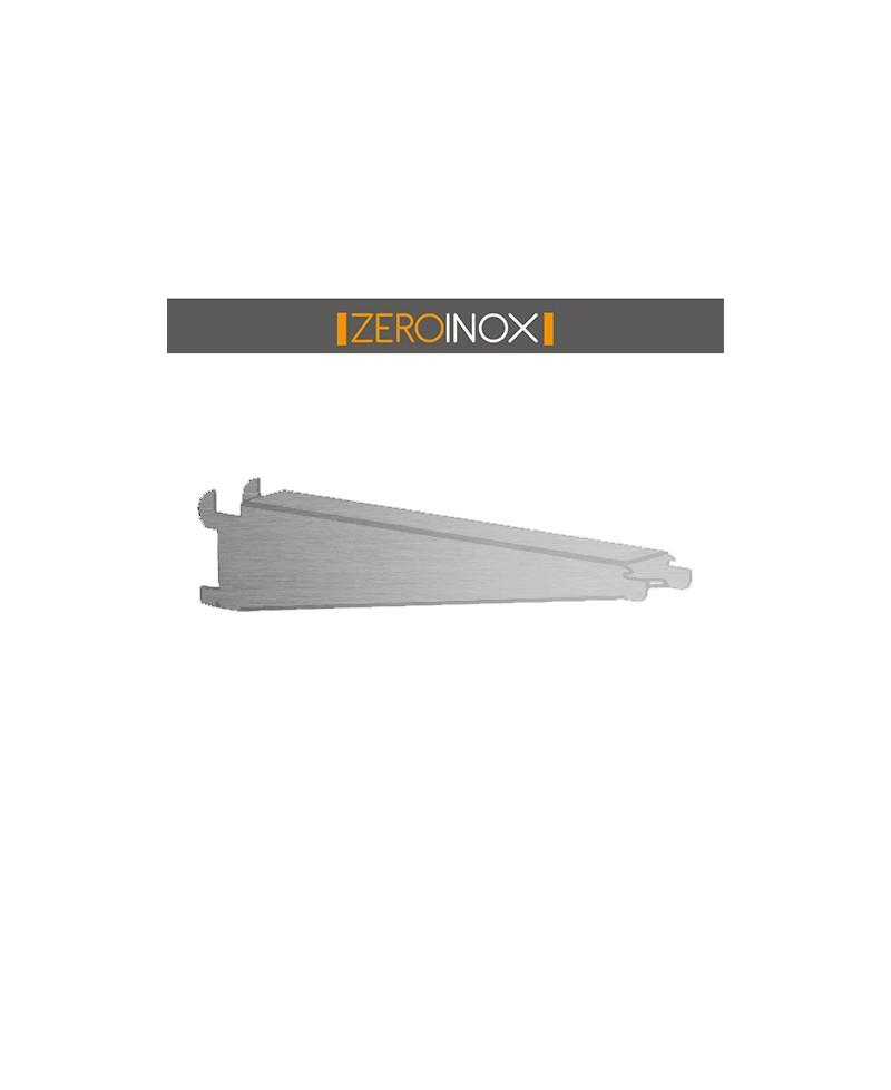 Mensole In Acciaio Inox.Supporto A Gancio Cremagliera Per Mensola Profondita 30 40cm